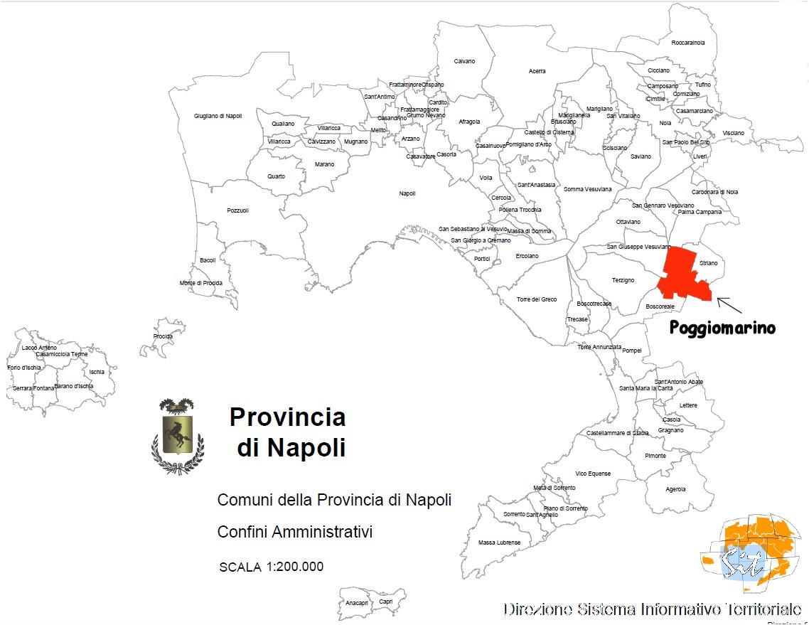 Provincia Di Napoli Cartina.Portale Istituzionale Comune Di Poggiomarino Na P R G Piano Regolatore Generale